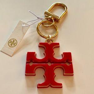 Tory Burch Logo Keyfob
